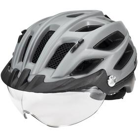 KED Covis Lite Kask rowerowy, grey black matt